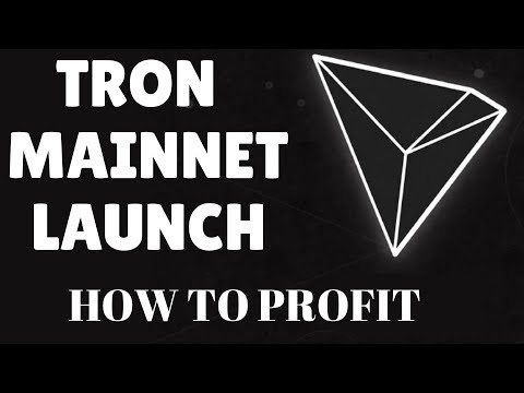 TRON MAINNET – WHY TRON WILL RISE – How I Will Trade Trx For Profit