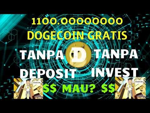 Dapat Buanyaak Dogecoin (DOGE) Gratisan – NO Deposit, NO Invest – LEGIT Cuyy!!
