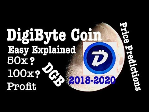 Future of Digibyte dgb coin Price predictions in 2018 – 2020 Hindi review analysis
