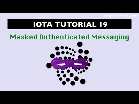 IOTA tutorial 19: Masked Authenticated Messaging
