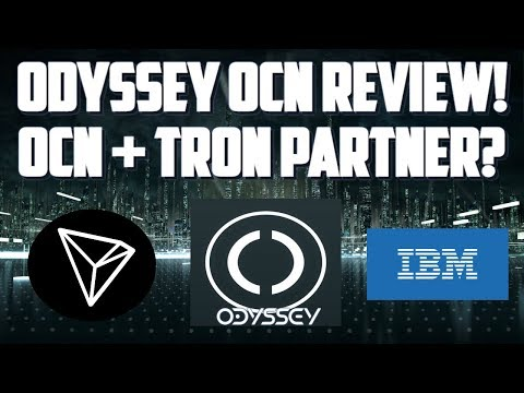 TRON TRX AND ODYSSEY COIN! OCN ODYSSEY REVIEW and PRICE PREDICITON