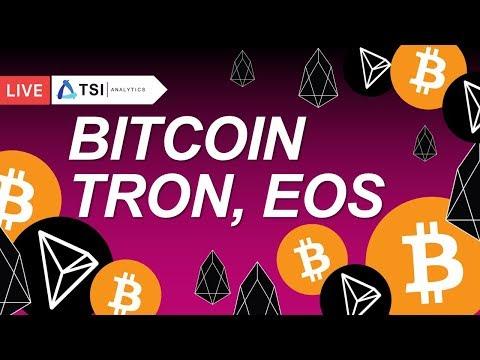 BITCOIN, EOS, TRON. Новая торговая возможность по XLMBTC | Прогноз цены на Биткоин, Криптовалюты