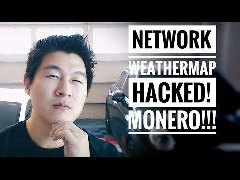 Network Weathermap Plugin Hacked – Mining… MONERO! – #HACKS