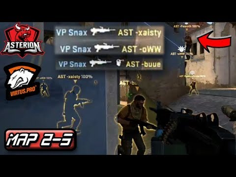 Snax Troll Buy! Neo Catches Anemies Off Guard! Virtus.pro Highlights VS Asterion/Map 2-3