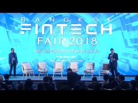 """Ripple at Bangkok Fintech Fair 2018  """"We're working with 40 or 50 central banks across the globe"""""""