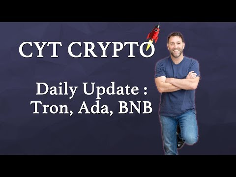Trading Update – Tron, Cardano, Binance, Stellar