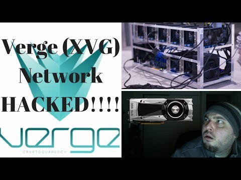Verge (XVG) Network Hacked! Mining Rewards Off!