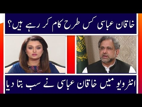 Khakan Abbasi Exclusive Interview | News Talk | 4 April 2018 | Neo News