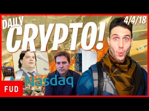 Daily Crypto News: $10B Bitcoin Lawsuit? Nasdaq, Bitmain vs. Ethereum, Verge HACKED