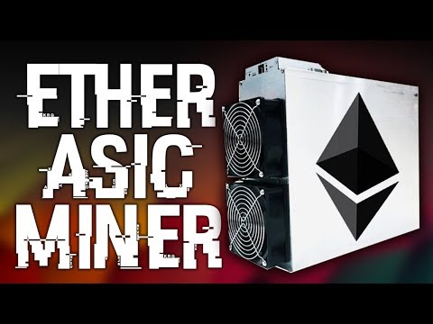 The First Ethereum ASIC Miner