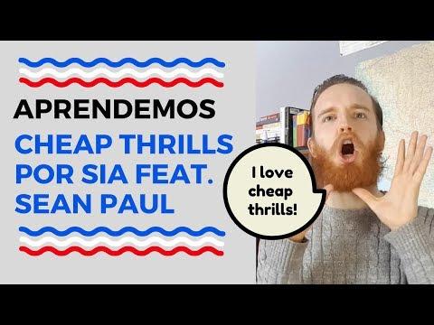 """Aprender El Inglés Con Canciones: Escuchamos """"Cheap Thrills"""" Por Sia"""
