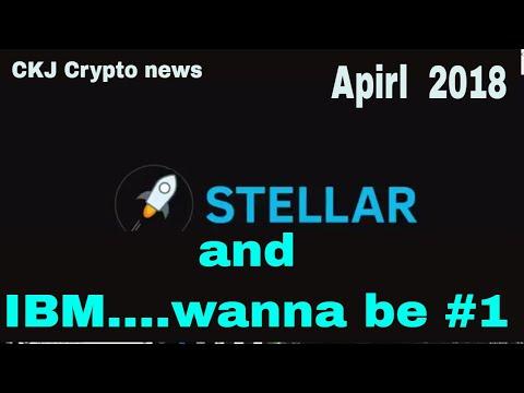 stellar XLM Jed McCaleb Knows Cryptos Partners IBM Stellar on the move ..CKJ Crypto news