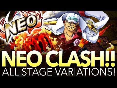 NEO CLASH!! AKAINU! All Stages Playthrough! (One Piece Treasure Cruise – Global)