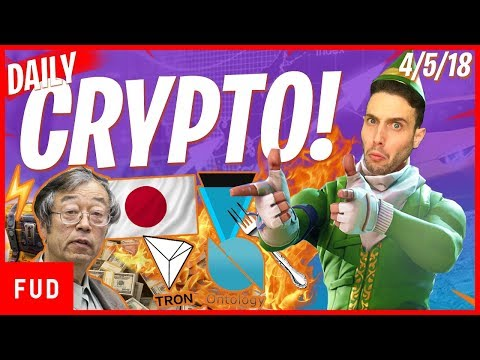Daily Crypto News: ONT TRX Pump, Satoshi's Birthday, Japan ICOs, Verge Hard Fork?
