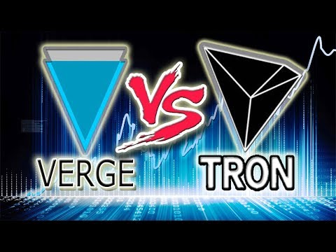 Verge (XVG) vs Tron (TRX) The Tables Have Turned!
