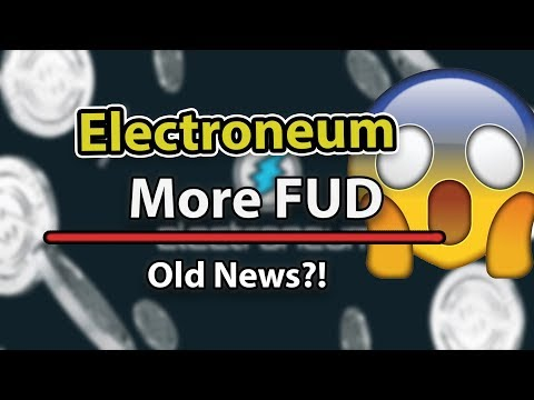 Electroneum More Fud… BUT ETN WILL BE STRONGER!