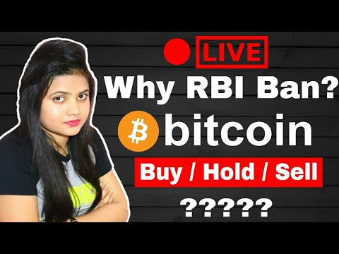 Why RBI Ban CryptoCurrency in India ? Bitcoin Buy/Sell/Hold?