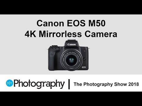 First look at the Canon EOS M50 – The ideal beginner mirrorless camera?