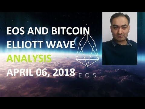 EOS and BITCOIN [ELLIOTT WAVE] APR 06, 2018