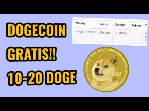 APLIKASI PENGHASIL UANG 2018 (CRYPTOCURRENCY) | GRATIS 10-20 DOGECOIN/HARI