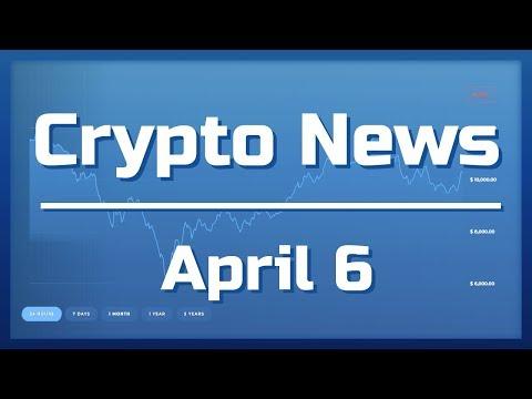 Crypto News Apr 6th (Coinbase Announcements, CoinMarketCap on D, Verge Fix Tmrw)