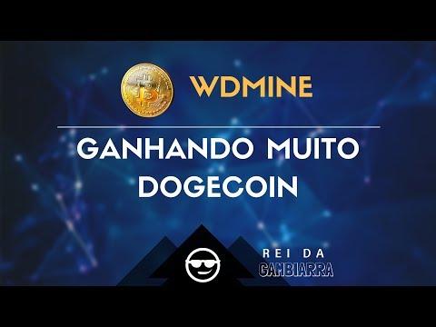 OTIMA MINERADORA DE DOGECOIN – PAGANDO SEM INVESTIR