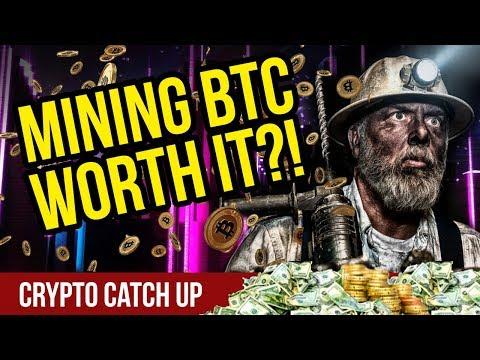 Is Mining Bitcoin Still Worth It? – Bitcoin Mining – CryptoCurrency News