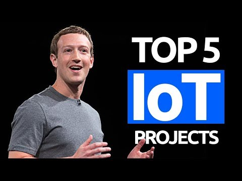 Top 5 IoT Projects (Best Internet of Things Home Automation Projects)