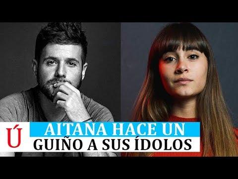 Aitana hace un guiño a Pablo López y Sia tras triunfar con Lo Malo Operación Triunfo 2017