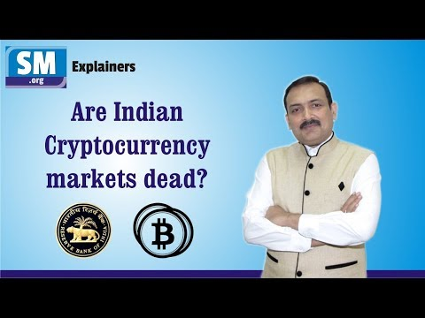 Cryptocurrency markets dead in India? – Explainer by Sandeep Manudhane