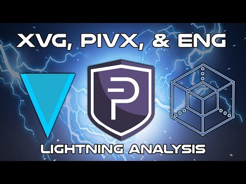 XVG, PIVX, & ENG – Lightning Analysis – Cryptocurrency Technical Analysis (2018)