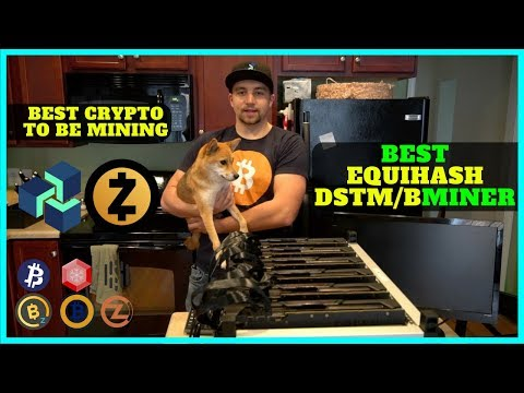 The BEST ZenCash / Zcash Equihash Miner DSTM vs Bminer + What Coins I'm Mining