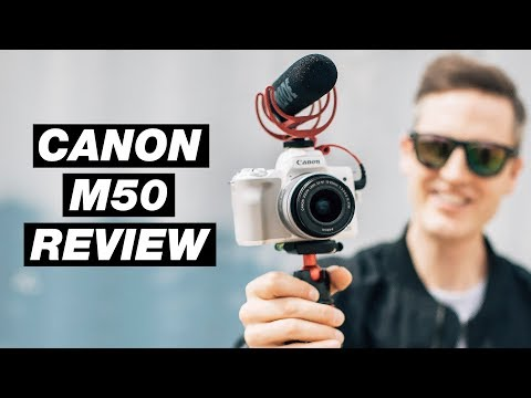 Best Vlogging Camera 2018 – Canon M50 Review