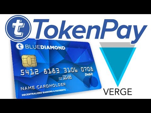 TOKENPAY & VERGE CRYPTO DEBIT CARDS ARE COMING + COINMARKETCAP/QRYPTOS LISTING – GERMAN BANK DEAL