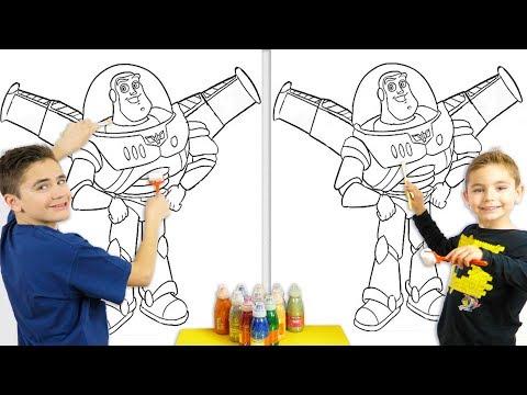 GIANT 3 MARKER CHALLENGE XXL !!! – Swan VS Néo : Buzz l'Éclair