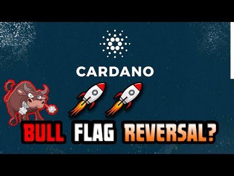 Cardano (ADA) Bull Flag – Down Trend Reversal!!