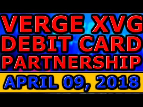 Why MORE Investment Is COMING To Cryptocurrency! Verge XVG DEBIT CARDS Soon From German BANK!