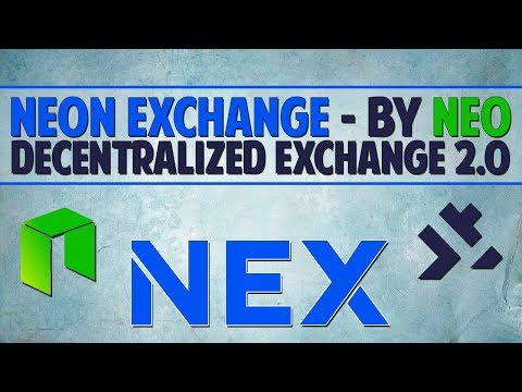 Neon Exchange (NEX) – Decentralized exchange 2.0 by NEO