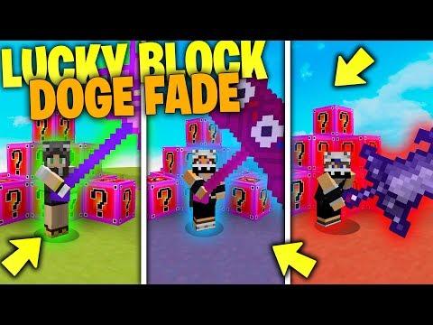 Minecraft ITA | SFIDA CON I LUCKY BLOCK DOGE FADE! 100 CUORI E ARMATURE PROT XXX Con KeNoia e Marco