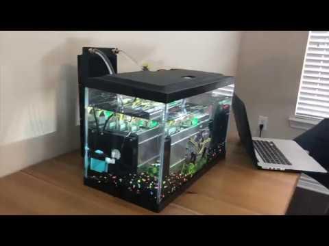 Coolest Bitcoin Mining Miner – Liquid Cooled Experiment