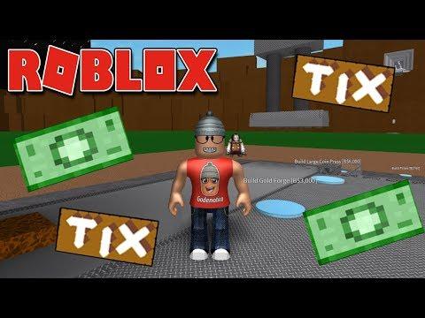 A FÁBRICA DE ROBUX E TIX – Roblox Mint Tycoon