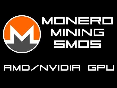 Mining Monero On SMOS SimpleMining.net with AMD / Nvidia GPU