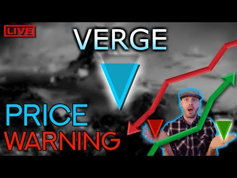 Verge XVG price warning! –  cryptocurrency news 2018 April