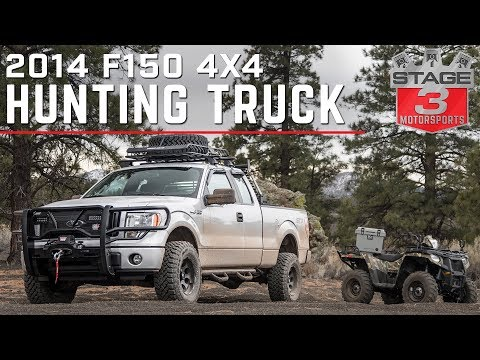 Stage 3 Motorsports 2014 F150 5.0L STX Hunting Truck Build