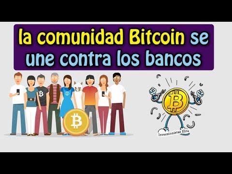 la comunidad bitcoin se une contra los bancos | análisis verge, eth, btc y bch