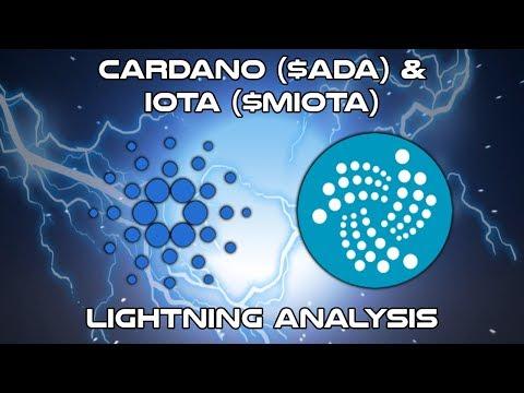 Cardano ($ADA) & IOTA ($MIOTA) – Lightning Analysis – Cryptocurrency Technical Analysis (2018)
