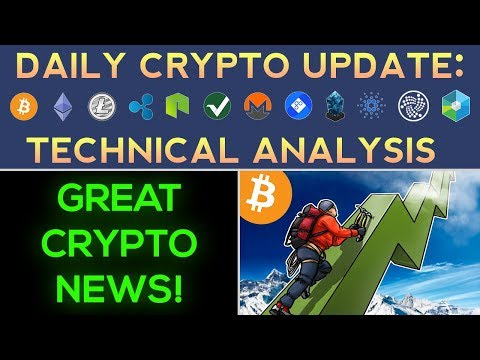 GREAT Cryptocurrency NEWS! + Are We About To MOVE HIGHER?