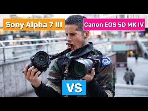 Sony Alpha 7 III vs Canon EOS 5D Mark IV   which one is better? (english)