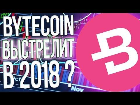 КРИПТОВАЛЮТА BYTECOIN (BCN) ПОЧЕМУ ВЗЛЕТИТ В 2018 ПРОГНОЗ И ПЕРСПЕКТИВЫ