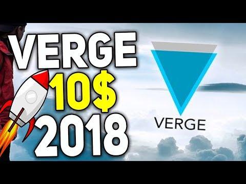 Криптовалюта Verge Способна Перевернуть Рынок Стоимость XVG 2018 Прогноз